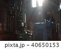 interior of the Orthodox Russian church lit by light from the windows 40650153