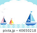 ヨット4 海 波 40650218