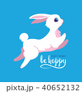 うさぎ ウサギ 兎のイラスト 40652132