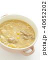 中華スープ コーンスープ スープの写真 40652202
