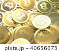 コイン 硬貨 ビットコインのイラスト 40656673