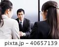 商談 ミドル ビジネスマンの写真 40657139