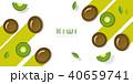 くだもの フルーツ 実のイラスト 40659741