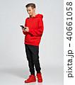 10代 モバイル 携帯電話の写真 40661058