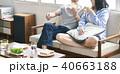 カップル 食事 40663188