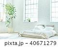 明るい寝室 40671279