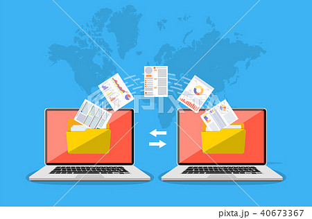 File transfer. Copy files, data exchang 40673367
