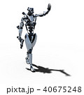 ロボット 人型ロボット 3DCGのイラスト 40675248