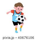 こども 習い事 サッカー イラスト 40676106