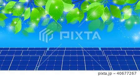 ソーラー 発電 エネルギー 背景  40677267