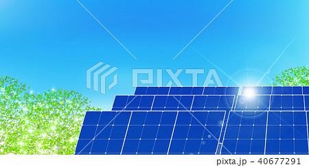 ソーラー 発電 エネルギー 背景  40677291