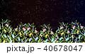 七夕 七夕飾り 短冊のイラスト 40678047