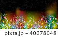 七夕 七夕飾り 短冊のイラスト 40678048