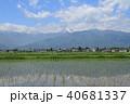 風景 安曇野 初夏の写真 40681337