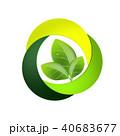 エコロジー 葉 エコのイラスト 40683677
