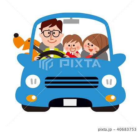 家族でドライブ 40683753