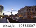 夕暮れのウラジオストクの街並み 40686607