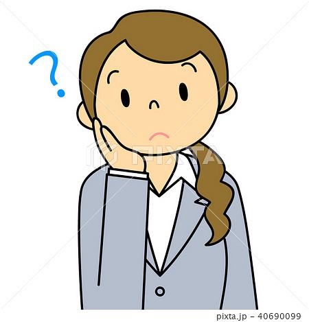 女性 OL 会社員 バリエーション 疑問 40690099
