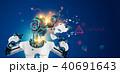 ロボット サイボーグ 人工のイラスト 40691643