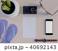 テーブル フォン 電話のイラスト 40692143