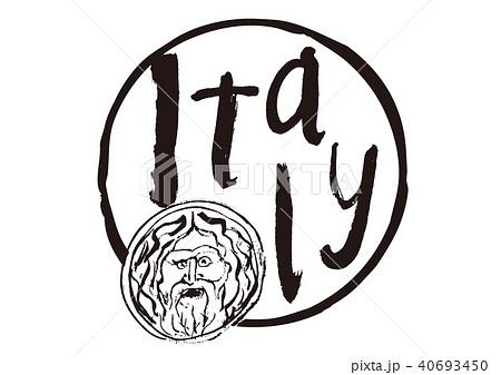 italy 筆文字 真実の口 イタリア 40693450