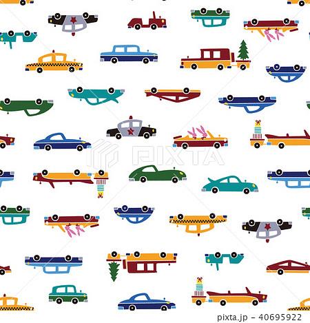 可愛い車のパターン, 40695922