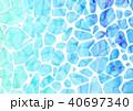 水紋 海 背景素材のイラスト 40697340