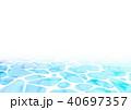 水紋 海 背景素材のイラスト 40697357