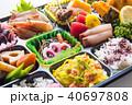 弁当 仕出し弁当 ご飯の写真 40697808
