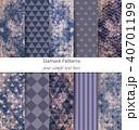 パターン 柄 模様のイラスト 40701199