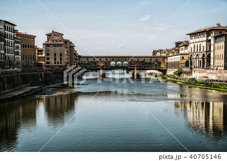 Ponte Vecchio Bridge in Florence - Italy 40705146