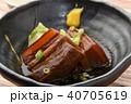 和食 牛肉の角煮 40705619