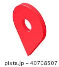 pin ピン ブローチのイラスト 40708507