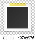 フレーム 写真 フォトのイラスト 40709576