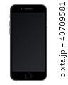 モックアップ タッチスクリーン スクリーンのイラスト 40709581