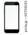 モックアップ タッチスクリーン スクリーンのイラスト 40709583