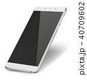 スマートフォン スペース 空白のイラスト 40709602
