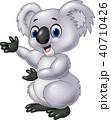 動物 マンガ 漫画のイラスト 40710426