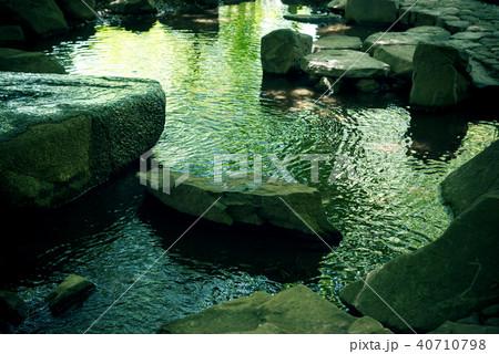 日本庭園の川 40710798