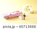 新郎新婦 新婚旅行 ハネムーンの写真 40713666