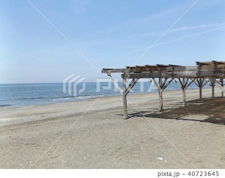 パーゴラの有る稲毛海岸 40723645