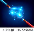 エナジー 活力 配線のイラスト 40725068