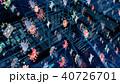 ウイルス ネットウイルス インターネットウイルスのイラスト 40726701