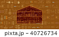 IOT スマートホーム IOT家電のイラスト 40726734