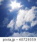 太陽光と青空 40729359