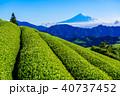 富士山 自然 風景の写真 40737452