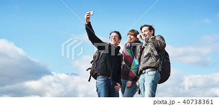 富士山 撮影 外国人 40738361