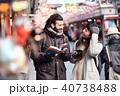 外国人 観光客 旅行の写真 40738488