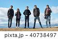外国人 5人 富士山の写真 40738497