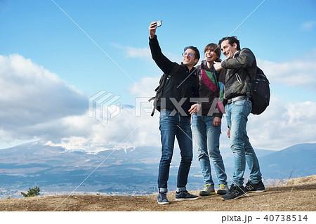 富士山 撮影 外国人 40738514